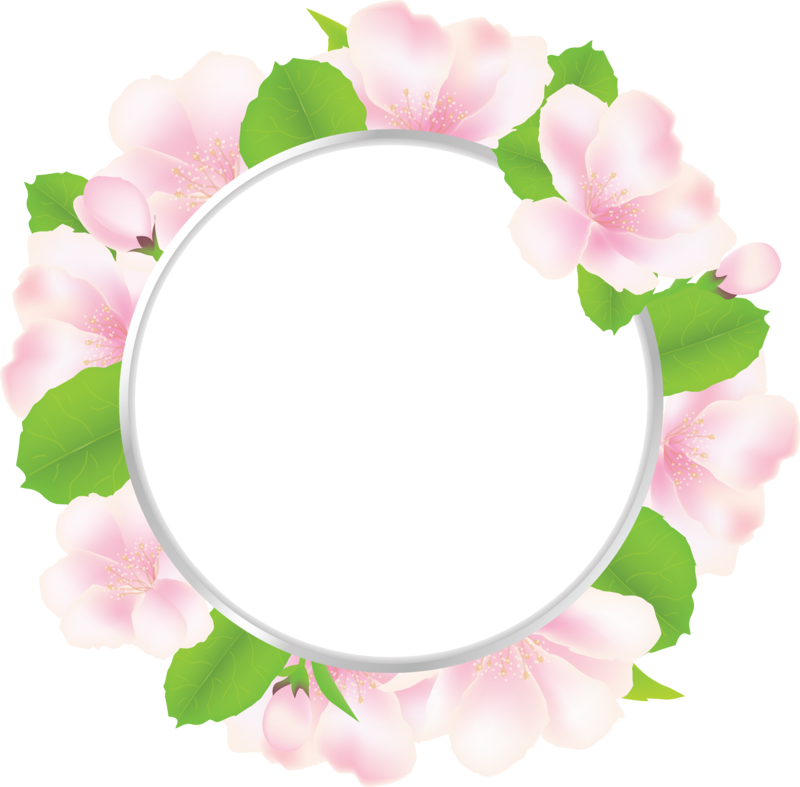 Рамка для фото в виде цветка