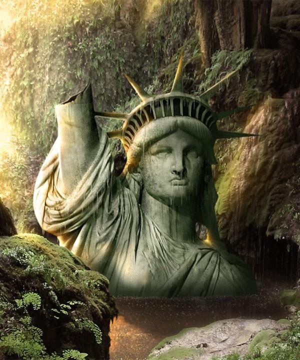 ETATS-UNIS - La Statue de la Liberté 31cfb784
