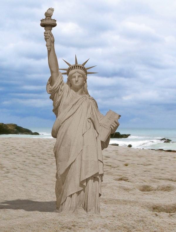ETATS-UNIS - La Statue de la Liberté 666889e5