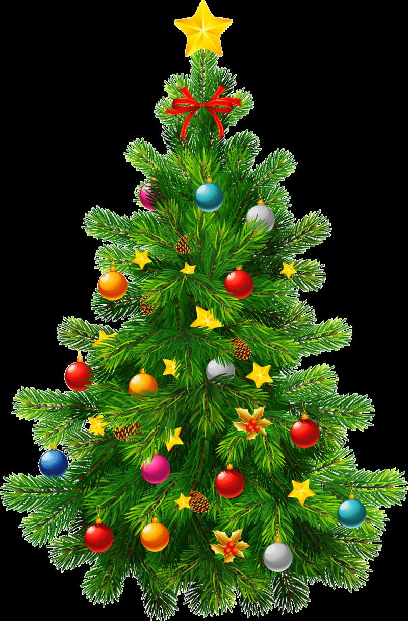 large christmas tree clip art free - photo #35