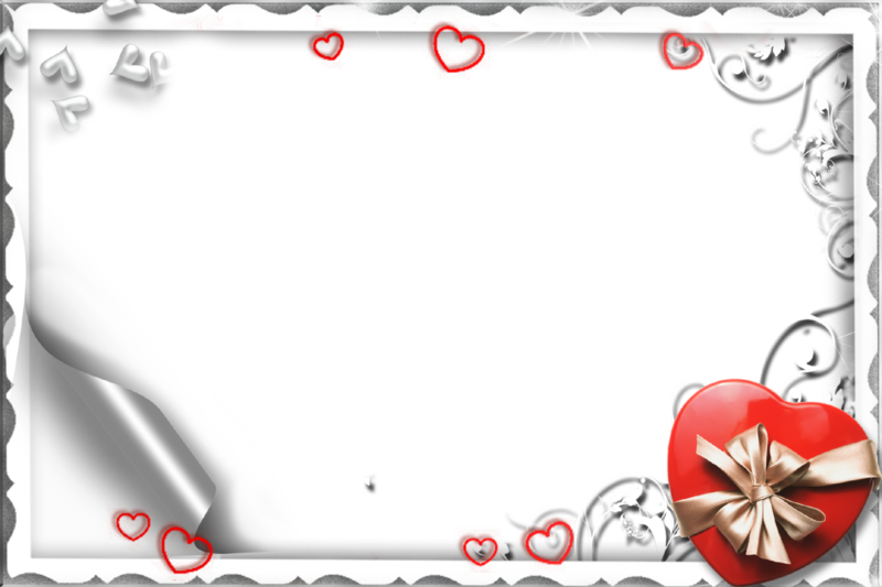 Love photo frames png