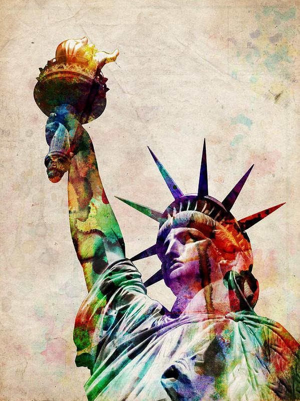 ETATS-UNIS - La Statue de la Liberté A151953f