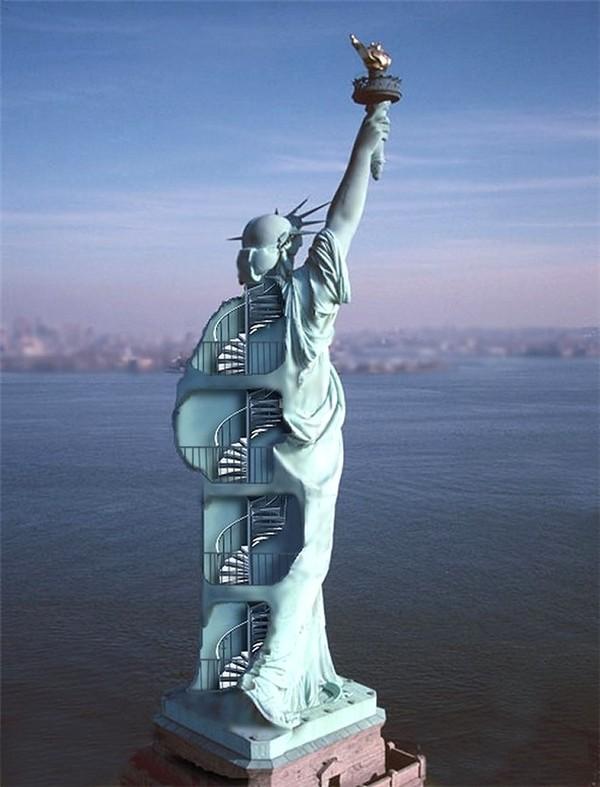 ETATS-UNIS - La Statue de la Liberté A9c5b830