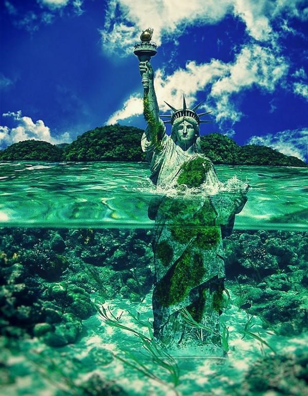 ETATS-UNIS - La Statue de la Liberté Dc65056a
