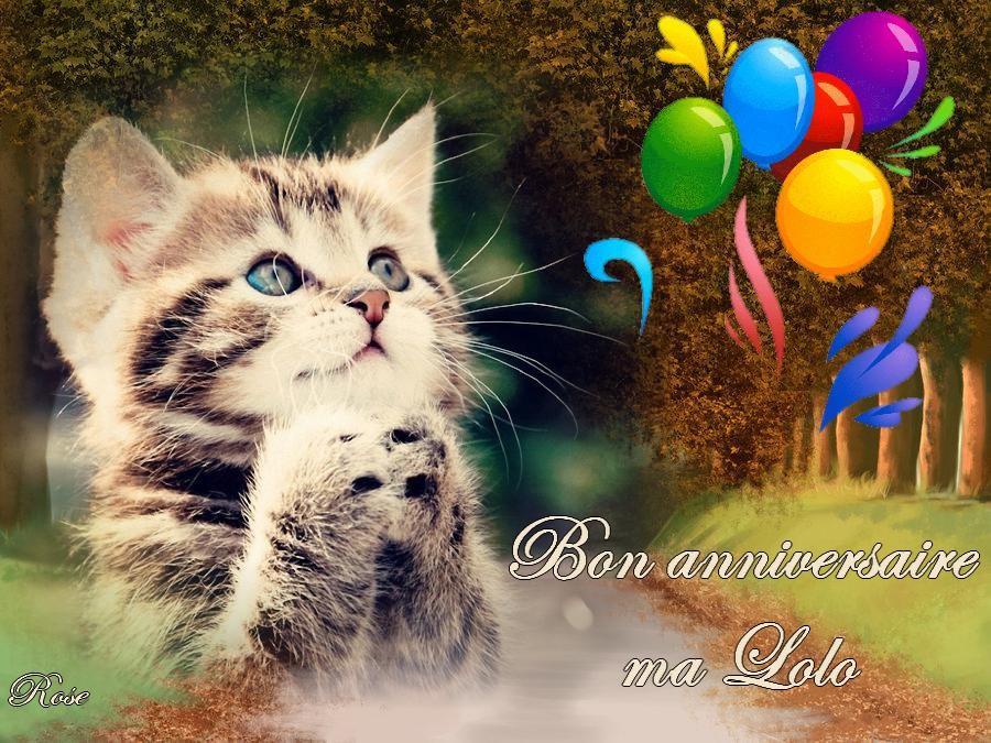 Bon Anniversaire Ma Lolo