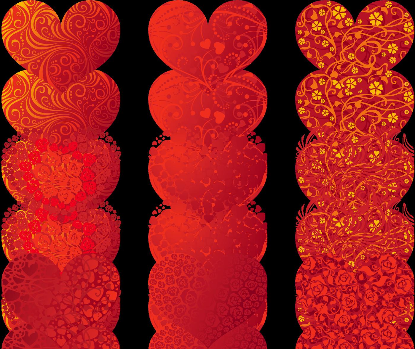 Coeurs page 60 - Modele de coeur a decouper ...
